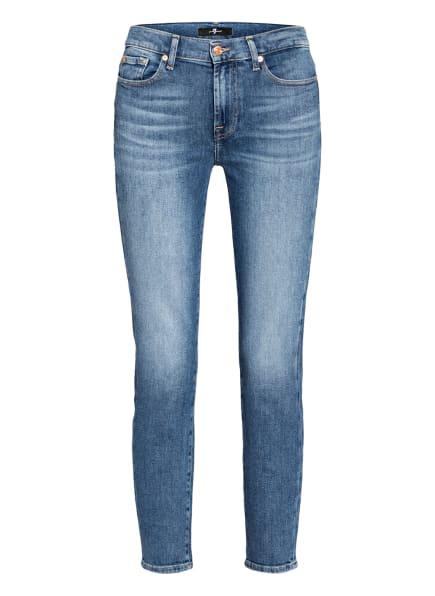 7 for all mankind Skinny Jeans ROXANNE, Farbe: Pier MID BLUE (Bild 1)