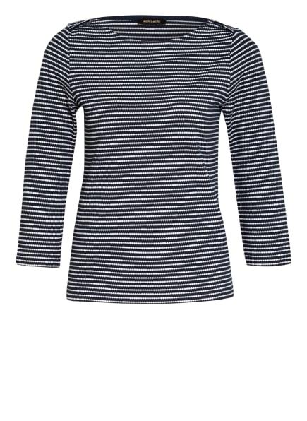 MORE & MORE Shirt mit 3/4-Arm , Farbe: DUNKELBLAU/ WEISS (Bild 1)