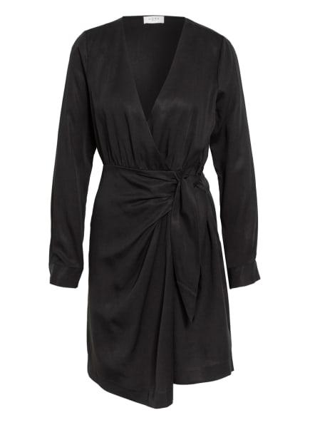 NORR Kleid in Wickeloptik, Farbe: SCHWARZ (Bild 1)
