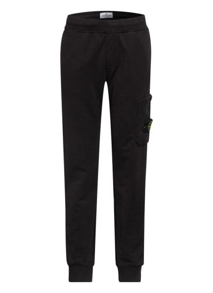 STONE ISLAND JUNIOR Sweatpants, Farbe: SCHWARZ (Bild 1)