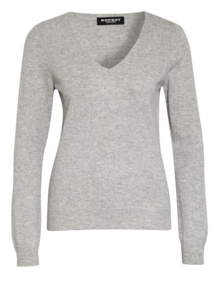 REPEAT Cashmere-Pullover, Farbe: HELLGRAU (Bild 1)