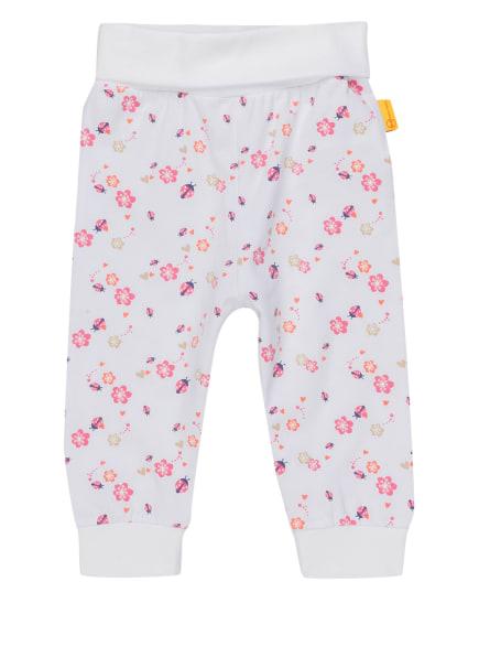 Steiff Sweatpants , Farbe: WEISS/ ROSA/ ROT (Bild 1)