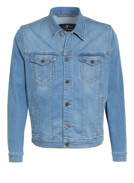 7 for all mankind Jeansjacke PERFECT JACKET, Farbe: LIGHT BLUE (Bild 1)
