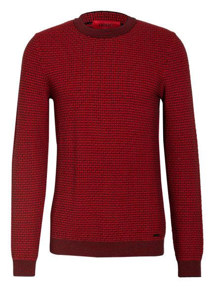 HUGO Pullover  , Farbe: ROT/ SCHWARZ (Bild 1)
