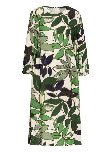 LUISA CERANO Kleid mit 3/4-Arm, Farbe: BEIGE/ GRÜN/ BLAU (Bild 1)