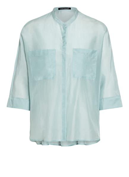LUISA CERANO Bluse mit Seide , Farbe: HELLBLAU (Bild 1)