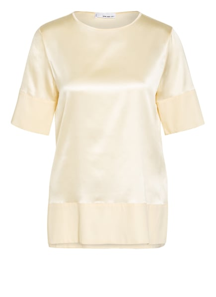 SEM PER LEI Blusenshirt aus Seide, Farbe: HELLGELB (Bild 1)