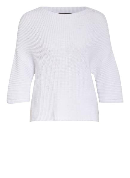 LUISA CERANO Pullover mit 3/4-Arm , Farbe: WEISS (Bild 1)