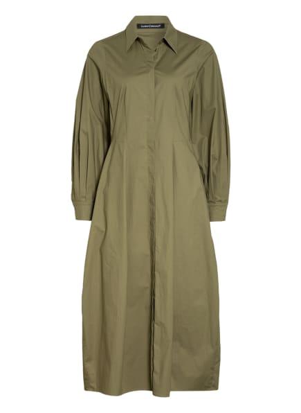 LUISA CERANO Hemdblusenkleid, Farbe: OLIV (Bild 1)