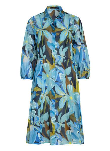 LUISA CERANO Kleid, Farbe: HELLBLAU/ BLAU/ DUNKELBLAU (Bild 1)