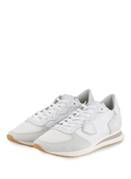 PHILIPPE MODEL Sneaker TROPEZ, Farbe: WEISS/ CREME (Bild 1)