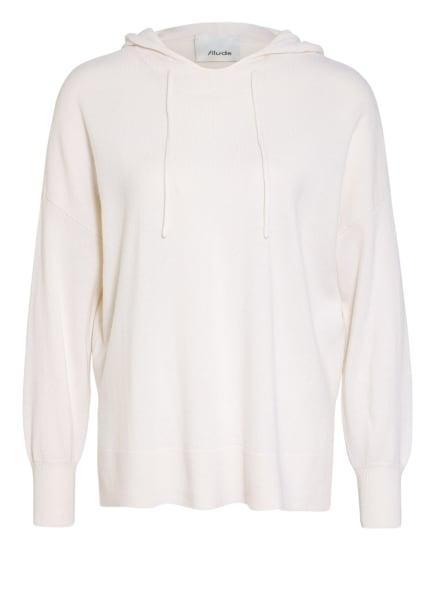 ALLUDE Strick-Hoodie mit Cashmere, Farbe: ECRU (Bild 1)