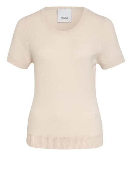 ALLUDE Strickshirt aus Cashmere, Farbe: CREME (Bild 1)