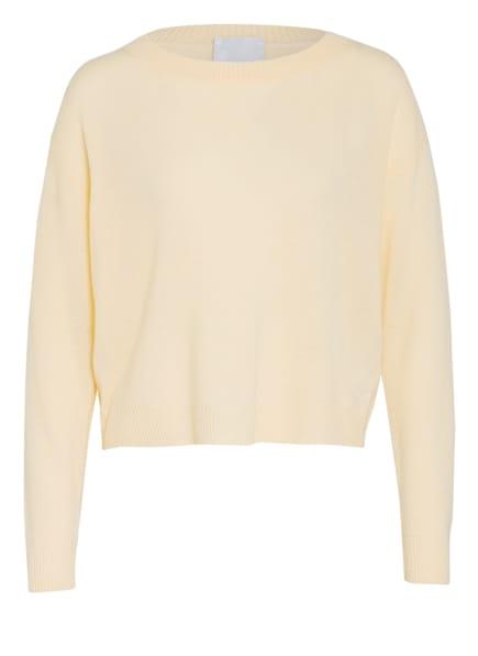 ALLUDE Cashmere-Pullover, Farbe: HELLGELB (Bild 1)