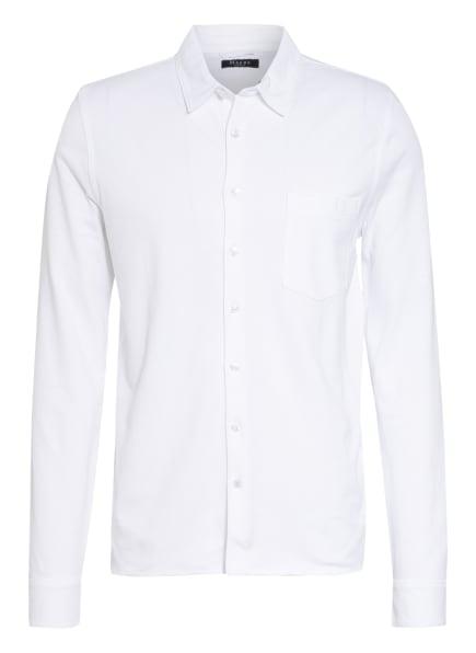 MAERZ MUENCHEN Piquéhemd Slim Fit, Farbe: WEISS (Bild 1)