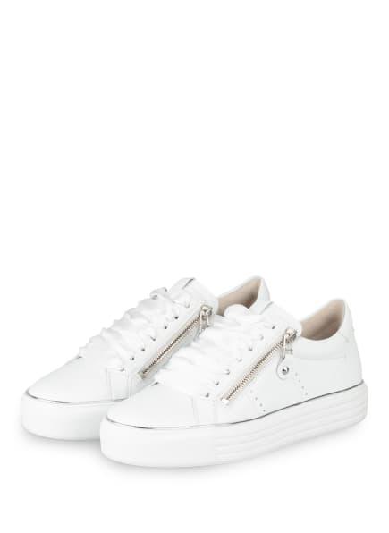 KENNEL & SCHMENGER Plateau-Sneaker, Farbe: WEISS (Bild 1)