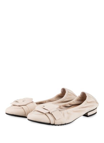 KENNEL & SCHMENGER Ballerinas MALU, Farbe: CREME (Bild 1)