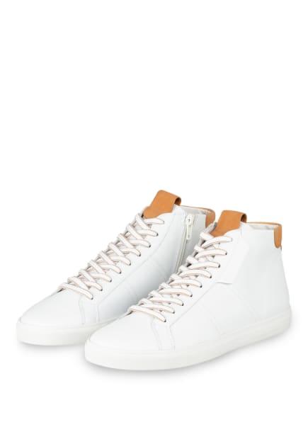 KENNEL & SCHMENGER Hightop-Sneaker, Farbe: WEISS/ COGNAC (Bild 1)