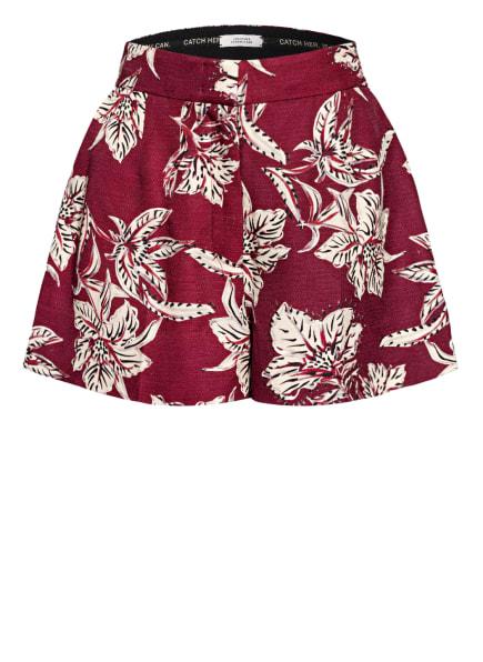 DOROTHEE SCHUMACHER Shorts, Farbe: DUNKELROT/ CREME/ SCHWARZ (Bild 1)