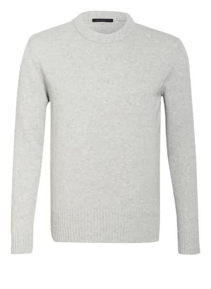 DRYKORN Pullover VINCENT, Farbe: HELLGRAU/ WEISS (Bild 1)