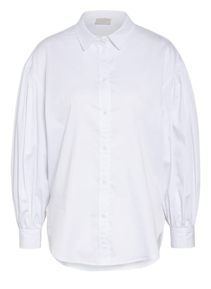 Mrs & HUGS Oversized-Hemdbluse , Farbe: WEISS (Bild 1)