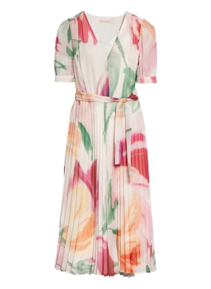 PENNYBLACK Kleid BRIGITTA mit Plissees, Farbe: ROSA/ GRÜN/ CREME (Bild 1)
