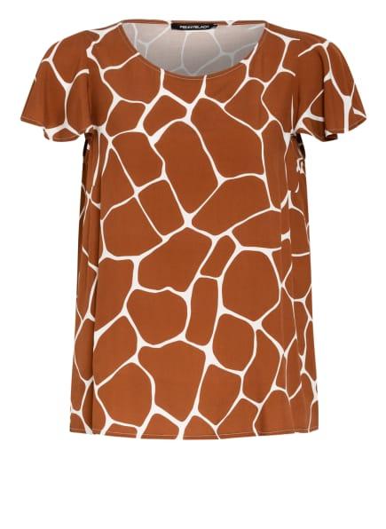 PENNYBLACK Blusenshirt AGOSTINA, Farbe: BRAUN/ WEISS (Bild 1)