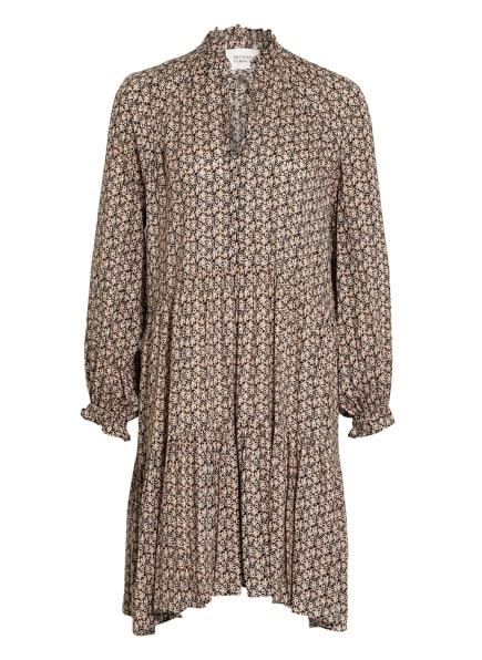 SECOND FEMALE Kleid FRANK, Farbe: SCHWARZ/ NUDE/ HELLBLAU (Bild 1)