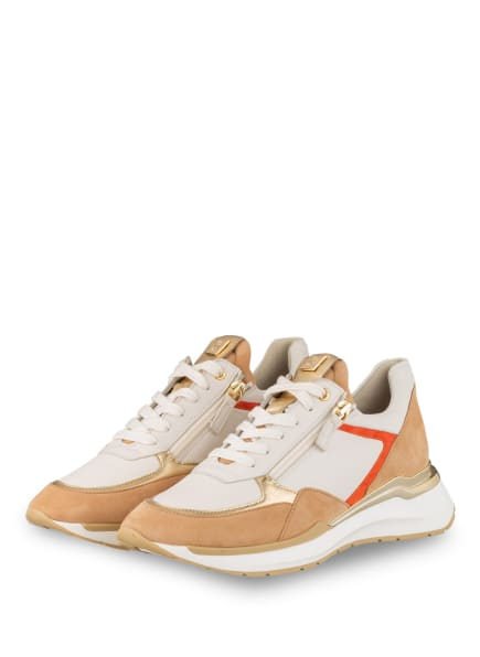 Högl Plateau-Sneaker FUTURE, Farbe: CAMEL/ WEISS (Bild 1)