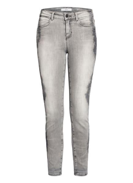 BRAX 7/8-Skinny Jeans ANA.S, Farbe: 09 used tie dye grey (Bild 1)