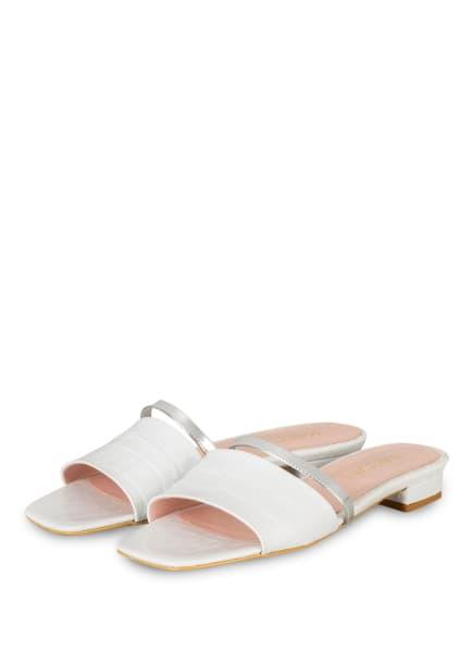 MARC CAIN Pantoletten, Farbe: 100 WHITE (Bild 1)