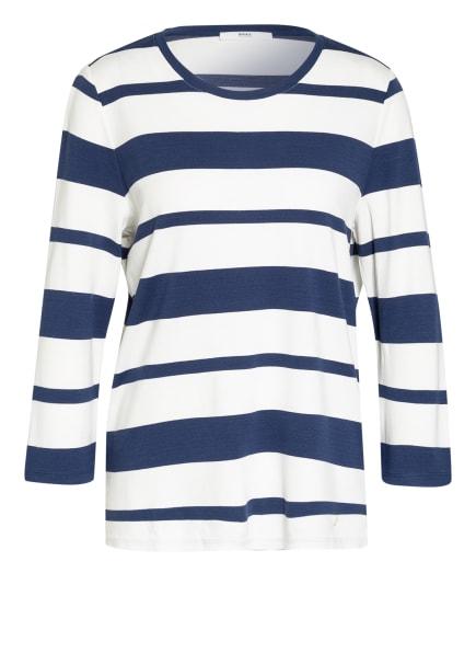 BRAX Shirt BOBBIE mit 3/4-Arm, Farbe: WEISS/ BLAU (Bild 1)