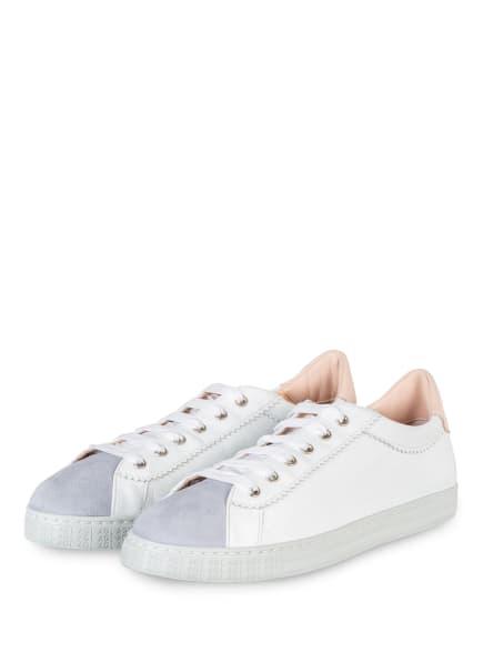 AGL Sneaker SADE, Farbe: WEISS/ HELLBLAU (Bild 1)