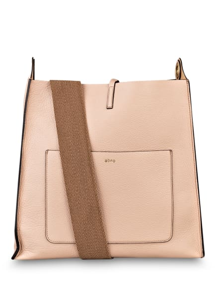 abro Hobo-Bag RAQUEL mit Pouch, Farbe: ROSÉ (Bild 1)