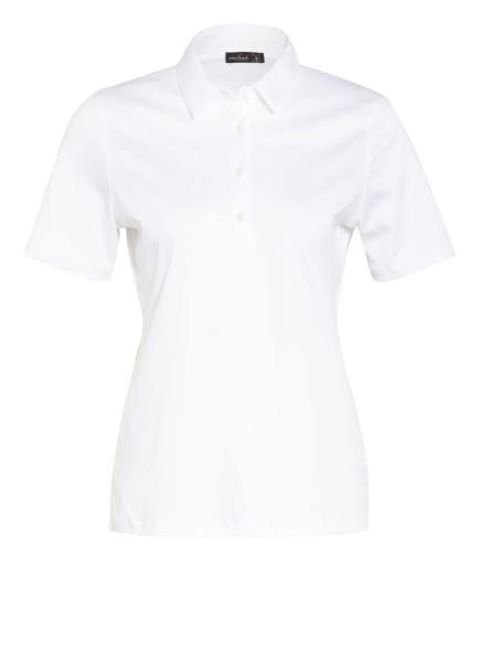 van Laack Jersey-Poloshirt MIRJA, Farbe: WEISS (Bild 1)