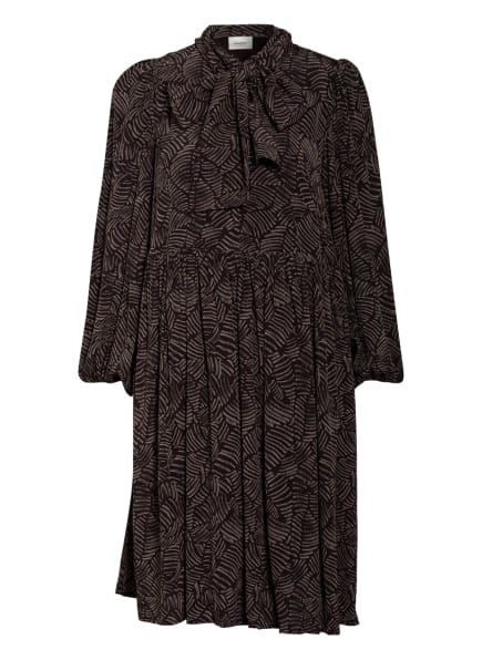 GESTUZ Kleid TIKA, Farbe: TAUPE/ SCHWARZ (Bild 1)