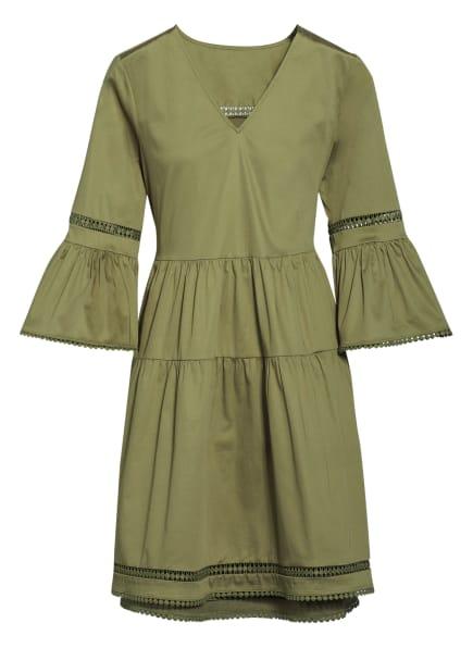 Mrs & HUGS Kleid mit 3/4-Arm , Farbe: OLIV (Bild 1)