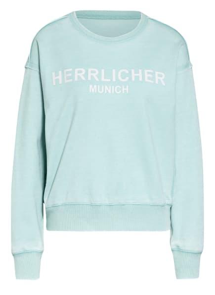 Herrlicher Sweatshirt CARRIE, Farbe: MINT (Bild 1)