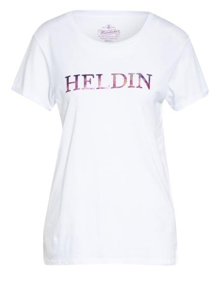 Herrlicher T-Shirt KENDALL, Farbe: WEISS (Bild 1)