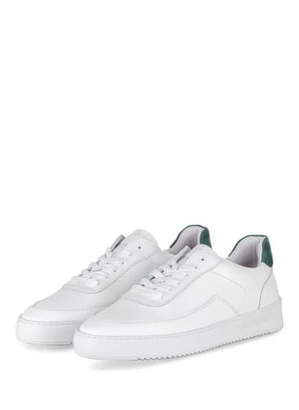 FILLING PIECES Sneaker MONDO 2.0 RIPPLE, Farbe: WEISS/ GRÜN (Bild 1)