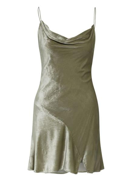 alice+olivia Samtkleid CARMELINA, Farbe: TAUPE (Bild 1)