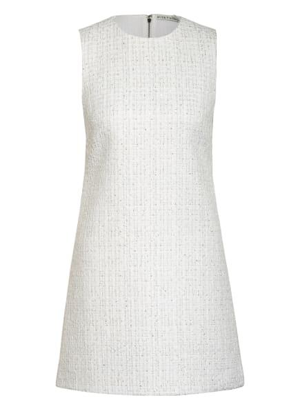 alice+olivia Tweed-Kleid COLEY mit Pailletten und Glitzergarn, Farbe: WEISS/ SILBER/ GOLD (Bild 1)