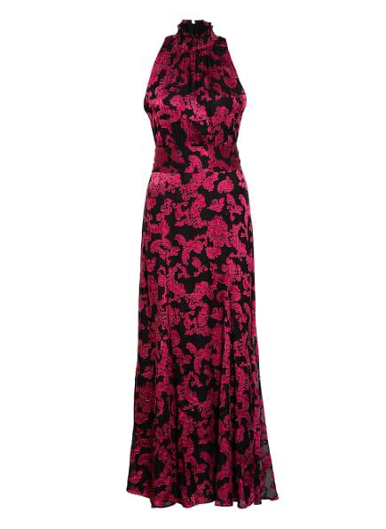 alice+olivia Kleid DITA mit Seide, Farbe: SCHWARZ/ FUCHSIA (Bild 1)