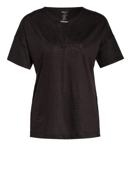 MARC CAIN T-Shirt aus Leinen, Farbe: 694 arabica (Bild 1)