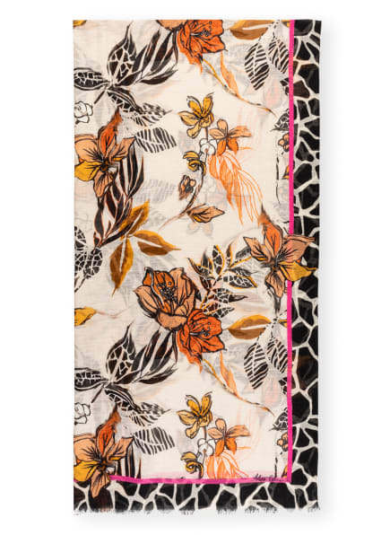 MARC CAIN Schal mit Leinen, Farbe: 115 cashew (Bild 1)