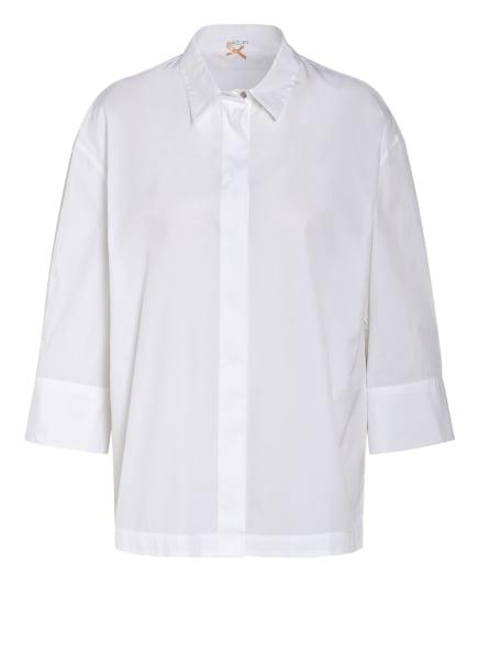 MARC CAIN Hemdbluse, Farbe: 100 WHITE (Bild 1)