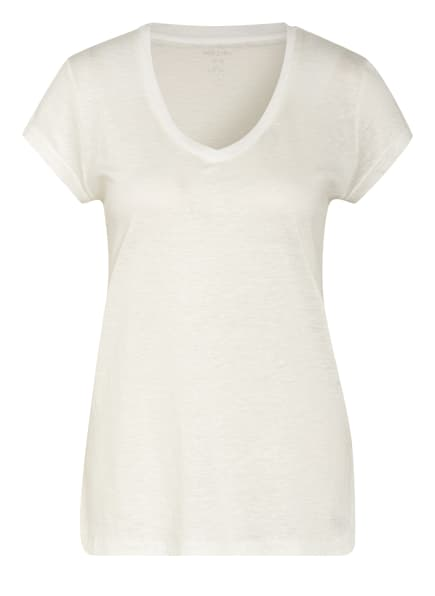 MARC CAIN T-Shirt aus Leinen, Farbe: 110 off (Bild 1)