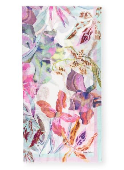 MARC CAIN Schal mit Leinen, Farbe: 702 cosmea (Bild 1)