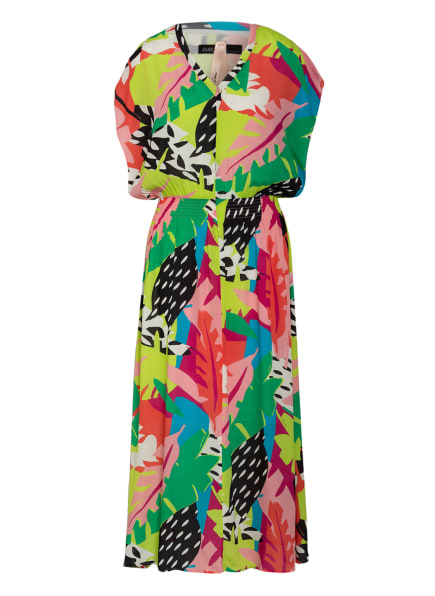 MARC CAIN Kleid mit Seide, Farbe: 559 leave (Bild 1)