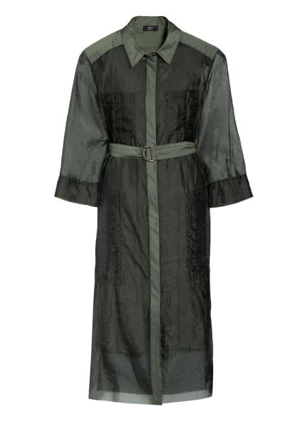 MARC CAIN Hemdblusenkleid mit 3/4-Arm, Farbe: 592 crocodile (Bild 1)